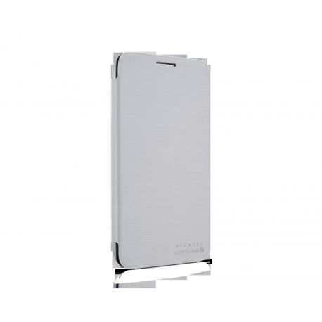 POP 3 (5) Flip cover, soft silver