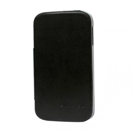 OT 991 Black Flip Cover