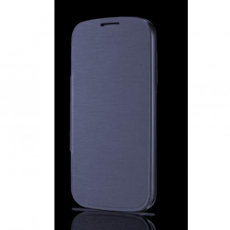 OT POP C5 Bluish Black Flip Cover