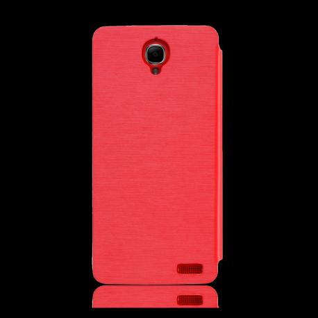 Flip Cover OT Idol X Red