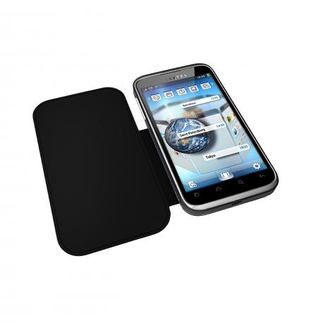 OT 995 Black Flip Cover